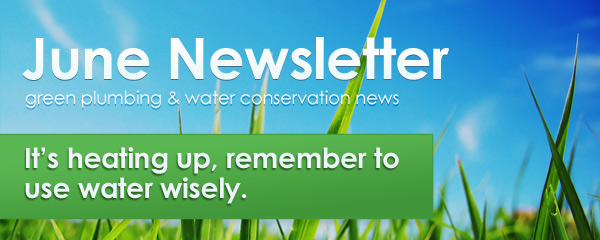 Green Plumbers June Newsletter